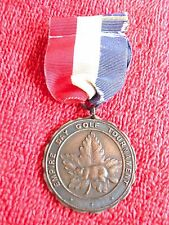 EMPIRE DAY GOLF TOURNAMENT MAPLE LEAF FUND 1941 MEDAL MEDALLION PIN