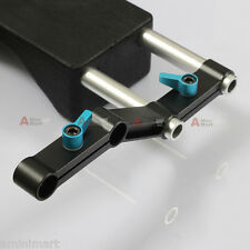 Z-Shape Offset Rod Clamp fr 15mm Rail System Shoulder Pad Armor Rig Cage a7s GH4