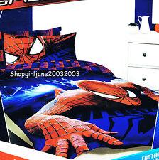 Spiderman Marvel ❅ Wall Crawler❅ Double/US Full Bed Quilt Doona Duvet Cover Set❅