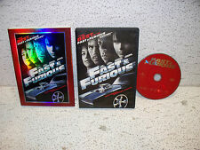 Fast & Furious DVD Paul Walker Vin Diesel