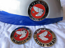 Honda Z50 Minitrail K0 K1 Tank Badges Emblems Set with Screws