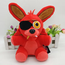 "10"" FNAF Five Nights at Freddy's Plush FOXY PIRATE Stuffed Animals Doll Toy New"