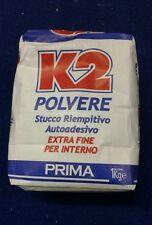 stucco polvere interno marca K2 confezione 5 kg pezzi 01