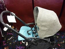 Replacement Sun Canopy for Bugaboo Stroller Bee3 GREY SUEDE