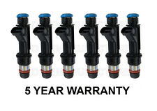 * 5 YEAR WARRANTY * Genuine Delphi Set Of 6 Fuel injectors Flow Matched OEM 4.2L