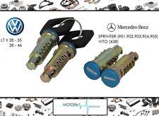 MERCEDES SPRINTER 95-06 VITO VW LT II serrure de porte barillet set gauche droit
