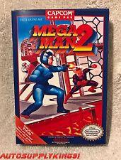 MEGA MAN 2 (Nintendo NES, 1989) Video Game Complete CIB w/ Custom Box Super MINT