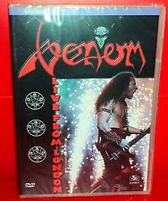 DVD VENOM - LIVE FROM LONDON - SEALED SIGILLATO