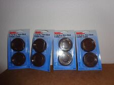 """16 1 13/16"""" Non-Skid Caster Cups for Round Furniture Legs NEW Flexible"""