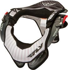 FLY Racing MX Motocross Valor MX Neck Brace (Black/White) Sm/Md 360-7030