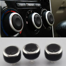 3pc/set Car A/C heat control knobs Switch for Mazda 2 M2 Air Condition Knob