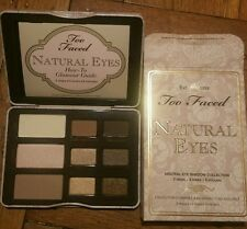 TOO FACED NATURAL EYES Neutral Collection Eyeshadow Palette NEW 100% AUTHENTIC