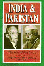 India and Pakistan: The First Fifty Years (Woodrow Wilson Center Press)  Very Go