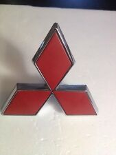 99-01 MITSUBISHI GALANT EMBLEM REAR TRUNK BADGE LOGO P# MR339344 RED GENUINE