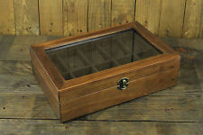 10 Slot Classic/Vintage Wood Watch Box Display Case Organizer Jewelry Storage