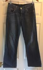 LUCKY BRAND Juniors Size 0/25 29x28 Easy Rider Blue Jeans Button Fly Midrise EUC