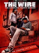 The Wire ~ Complete 4th Fourth Season 4 Four ~ BRAND NEW 4-DISC DVD SET