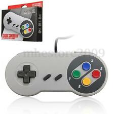New SNES USB Famicom Colored Classic Super Nintendo Controller for PC MAC