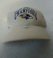 New old Stock Baltimore Ravens Super Bowl XXXV rare NFL Ray Lewis Hat Cap ZZ