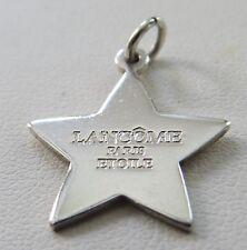2002 TIFFANY & CO STERLING SILVER LANCOME PARIS ETOILE STAR CHARM OR PENDANT
