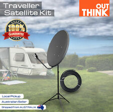 Satellite Dish Kit for VAST Digital TV Portable Caravan Reception