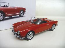 1:18 AUTOart alfa romeo giulietta 1300 spider red rouge Neuf New