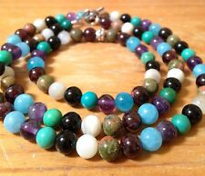 ॐCrystal Blissॐ Fertility, IVF, PCOS, Healthy Pregnancy Bracelet & Necklace Set