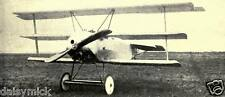 German Air Force Fokker DR 1 Fighter Scout World War 1, 7x3 inch Reprint Photo a