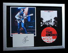 KOOKS+SIGNED+FRAMED+LISTEN+JUNK+INSIDE+MOVES=100% AUTHENTIC+EXPRESS GLOBAL SHIP