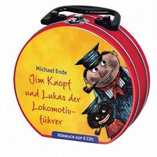 Jim Knopf und Lukas der Lokomotivführer Hörspiele im Hörbuchkoffer 5xCD Neu