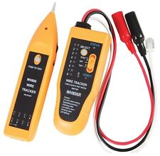 Network Cable Tester & Tracker for Cat5e Cat 6e Telephone Wire Coaxial Cable
