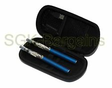 BLUE Rechargeable Electric Shisha Hookah 2 Pen Set + 1 Free Flavour Mix Fruit