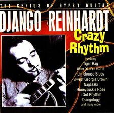 ♫♫ DJANGO REINHARDT ritmo loco The Genio Of Gypsy Guitarra ♫♫