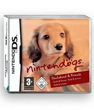 Nintendo DS JEU-Nintendogs Basset & Friends (avec emballage d'origine)