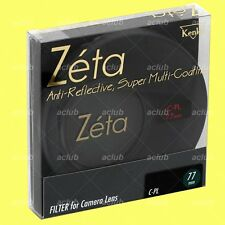 Genuine Kenko 77mm Zeta CPL Circular Polarizing filter CIR C-PL(W) Polarizer