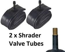 "2 x 26"" Schrader Valve Inner CycleTube 1.75 1.85 1.95 2.05 2.125 Bicycle Bike"