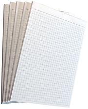 18x Notizblock kariert -karierte Blocks Notizen  DIN A5 - 80g/m² Offset (22209)