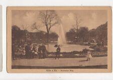 Koeln Am Rhein Deutscher Ring Vintage Postcard Germany 085b