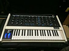 Moog Minimoog Voyager Old School Custom White Blue LED/ Analog Synth //ARMENS