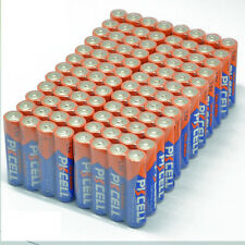 100pcs Alkaline Batteries AAA LR03 1.5V Long Lasting Dry Batteries Cell PKCELL