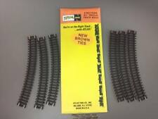 "Atlas #2510 N scale Code 80 9-3/4"" Radius Section 6 pieces of track Model Trains"