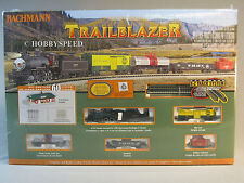 BACHMANN N SCALE TRAILBLAZER SET train steam tender engine freight gauge 24024