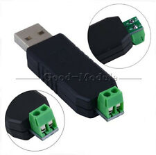 2pcs CH340 USB to RS485 485 Converter Adapter Module For Win7/Linux/XP/Vista