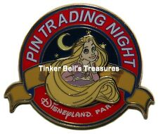 DISNEY Pin LE 400 DLP - Rapunzel (Tangled) - Pin Trading Night Pin - Paris