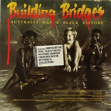 Building Bridges-2LP-1989 CBS-Coloured Stone-V.Spy V.Spy-Midnight Oil-Paul Kelly