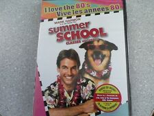 NEW Summer School (DVD, 2013 )  CLASSIC 1987 COMEDY I LOVE THE 80'S RELEASE