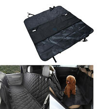 Waterproof Car Rear Back Seat  Pet Dog Cover Protector Nonslip Quilted Padding