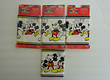 MICKEY MOUSE Disney Wall Border 4 Packages Borden MICKEY'S STUFF Self Stick New