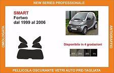 pellicola oscurante vetri pre tagliata smart fortwo dal 99-2006 kit posteriore