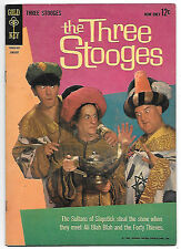 The Three Stooges #11 (Gold Key 1962 fn/vf 7.0) guides at $39.50 (£31.00)